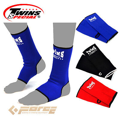 TWINS Special Pro Muay Thai Kick Boxing MMA UFC ANKLE GUARD!