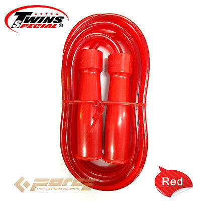 TWINS Pro Muay Thai Kick Boxing UFC MMA Skip Rope Jump Rope RED!