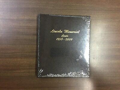 Dansco Coin Album # 7102 For Lincoln Memorial Cents From 1959-2009, NEW!!!