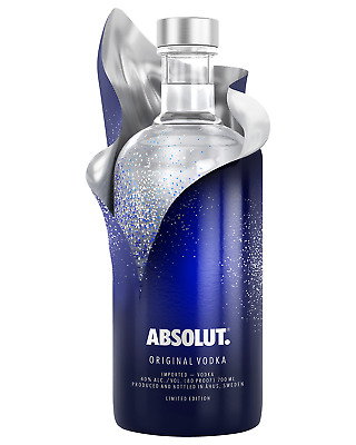 Absolut Uncover Vodka 700mL case of 6