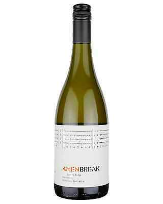 Amen Break Quarry Ridge Victoria Chardonnay case of 6 Dry White Wine 750mL