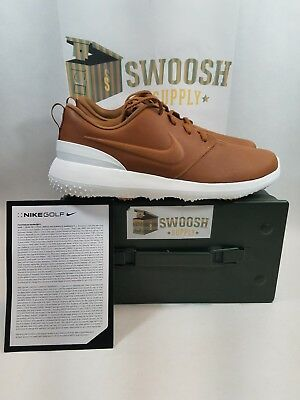 big sale f1a2a 12593 Nike Roshe G Premium AA1838 200 Size 10 New Golf Shoes Cleats Sale