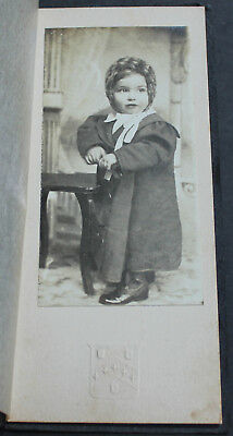 Antique Original American Early 20th Century Photograph Beautiful Small Child