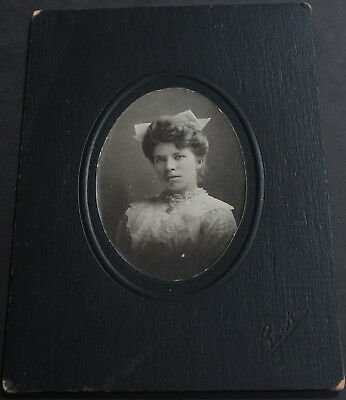 Antique Original American Early 20th Century Photograph Beautiful Woman