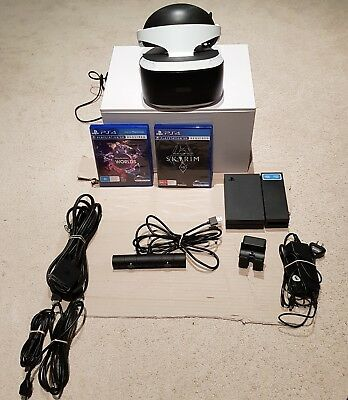 PlayStation VR plus PS4 Camera and Games