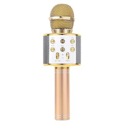 Handheld Bluetooth Wireless Karaoke Microphone Phone Player MIC Speaker Record 7