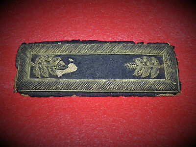 Civil War Major of Staff Shoulder Board