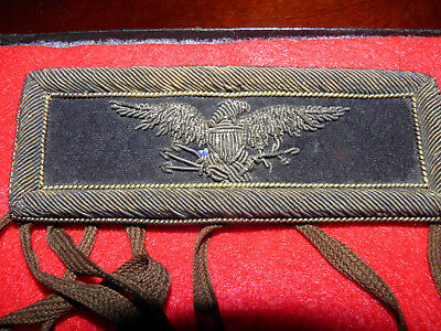 Civil War Colonel of Staff Shoulder Board