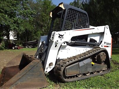 2013 Bobcat T630 Skid Steer Track Loader w/O71 options Very Clean Condition