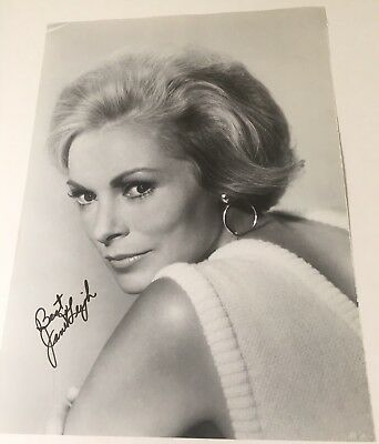 Janet Leigh Signed Autographed Art Book Cut Photo Psycho Bye Bye Birdie