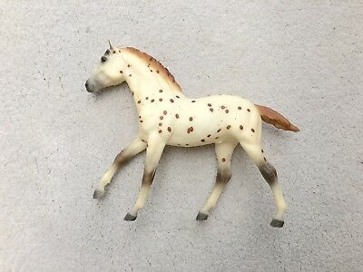 Retired Breyer Action Stock Horse Foal #810 Red Leopard Appaloosa