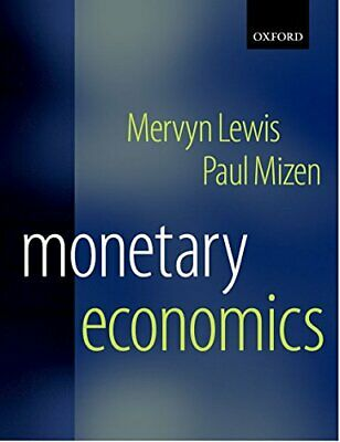 Monetary Economics by Lewis, Mervyn Paperback Book The Cheap Fast Free Post