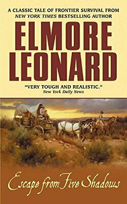 Escape from Five Shadows by Leonard, Elmore Book The Cheap Fast Free Post