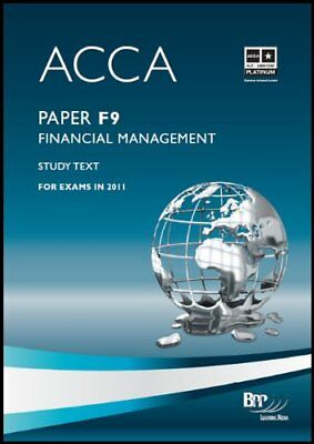 ACCA - F9 Financial Management: Study Text by BPP Learning Media Ltd Paperback