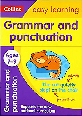 Grammar and Punctuation Ages 7-9: New Edition (Collins Easy Learning KS2), New,