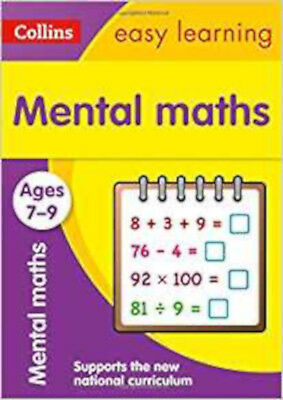 Mental Maths Ages 7-9: New Edition (Collins Easy Learning KS2), New, Collins Eas