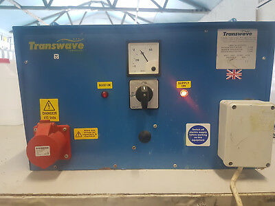 Transwave Rotary  3 phase converter 240v to 400v free delivery