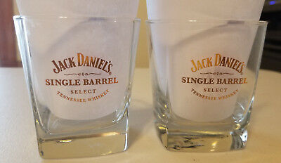 Pair of Jack Daniel's Single Barrel Select Whiskey Glasses 2011 Ducks Unlimited