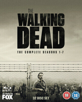 The Walking Dead: The Complete Seasons 1-7 DVD (2017) Andrew Lincoln ***NEW***