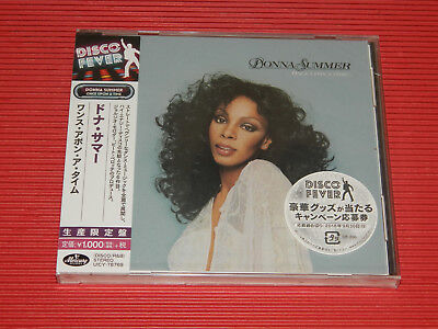 2018 DISCO FOREVER DONNA SUMMER Once Upon A Time  JAPAN CD