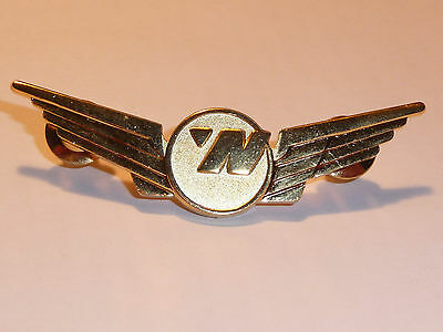 Metal Northwest Airlines Flight Attendant Employee Uniform Crew Wings never used