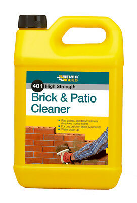 EVERBUILD 401 High Strength BRICK & PATIO CLEANER 5 LTR
