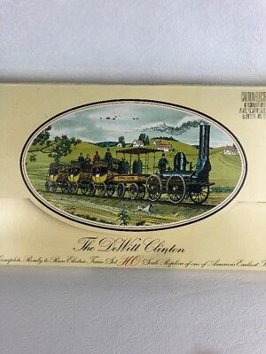 Vintage Bachmann The DeWitt Clinton Electric Train Set HO Scale New Old Stock