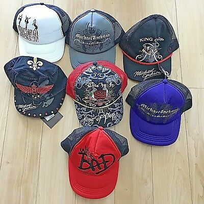 Michael Jackson Cap Hat Baseball 7 Different Types Bad This Is It