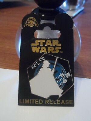 Star Wars Darth Vader May the Sith (be with you) Limited Release New Disney Pin!