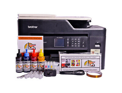 Non OEM Epson EcoTank L382 Printer Bundle - with paper and sublimation ink