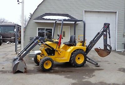 2013 Terramite T5C Mini Backhoe Loader Tractor Skid Steer with Low Hours CTLB