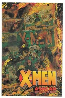 Marvel Comics X-MEN ashcan edition first printing Age of Apocalypse