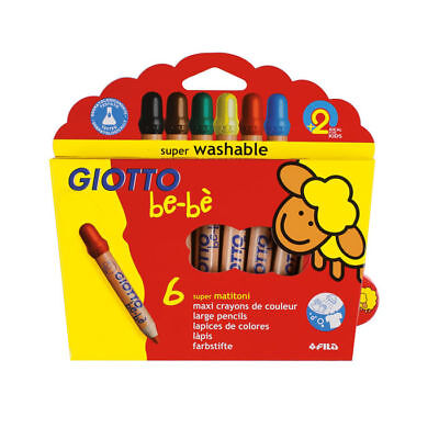 NUOVO Lyra Giotto Be-Bé Super largepencils 6 STK