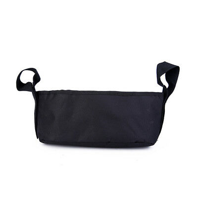 Hanging Bag Stroller Organizer Accessories for Baby's Small Items Black