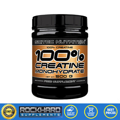 Scitec Nutrition 100% Pure Creatine Monohydrate 500g Powder Muscle Builder