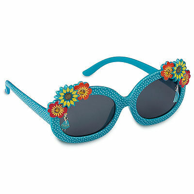 """Disney Store Anna and Elsa - Frozen """"Ice Sight"""" 3D Flowers Sunglasses for Girls"""