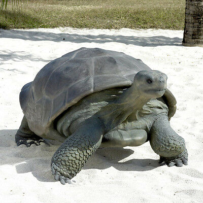 Giant Galapagos Tortoise Garden Statue Statuary Lawn Yard Ornament Sculpture