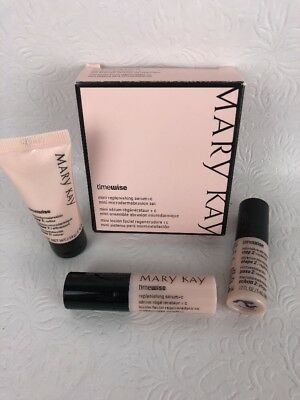 Mary Kay Timewise Mini Replenishing Serum + C & Mini Microdermabrasion Set