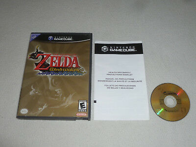 Nintendo Gamecube Game The Legend Of Zelda The Wind Waker Wii Link
