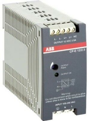 ABB 1SVR42703SR0000 CP-E Switch Mode DIN Rail Panel Mount Power Supply, 240W