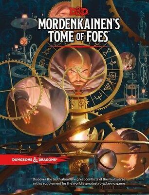 Mordenkainen's Tome Of Foes (Dungeons & Dragons, D&D) [New Book] Dice Game, Ha