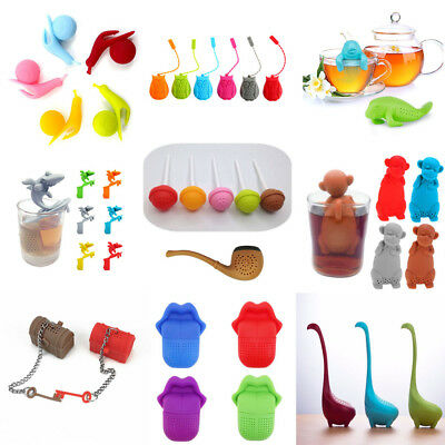 Silicone Tea Infuser Loose Tea Leaf Strainer Herbal Silicone Filter Diffuser