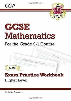 GCSE Maths Exam Practice Workbook: Higher - for the Grade 9-1 C... by Books, Cgp