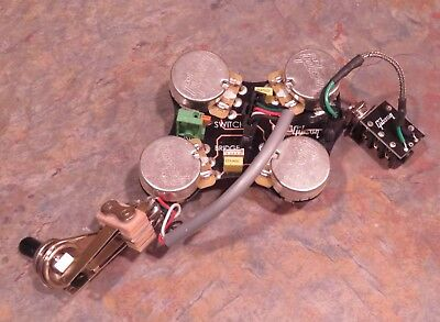 2017 GIBSON USA SG Standard WIRING harness solderless QUICK CONNECT on gibson solderless pickup system, parrot hands-free adapter harness, gibson eb-2d wiring, gibson quick connector,