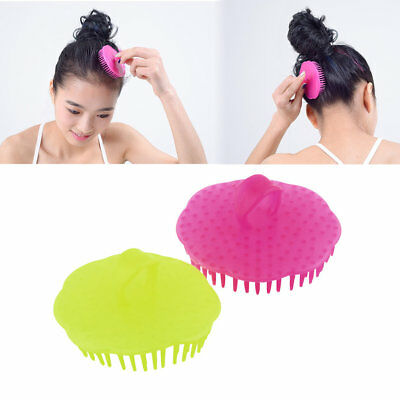 New Hair Shampoo Scalp Body Massage Massager Brush Comb GD