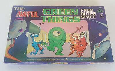 Vintage THE AWFUL GREEN THINGS FROM OUTER SPACE Board Game By TSR 1980