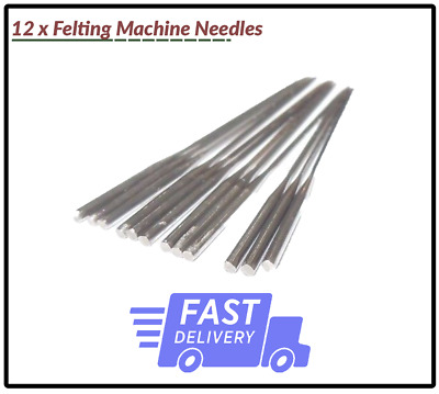 12 x Felting Machine Needles SET For Simplicity - *BRAND NEW*
