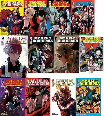 *NEW* My Hero Academia Manga set Volumes 1-13 English book graphic novel lot