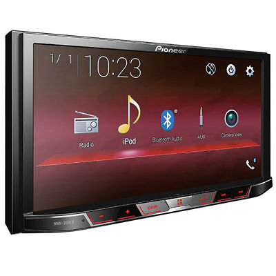 "Pioneer MVH-300EX Double 2 DIN MP3/WMA Digital Media Player 7"" LCD Bluetooth USB"