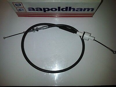 FORD CAPRI CORTINA ESCORT RS2000 1.6 2.0 OHC PINTO NEW 1223mm LONG CLUTCH CABLE